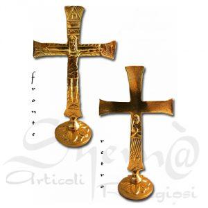 Croce neocatecumenale tradito alltezza 15 cm.