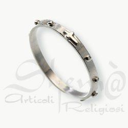anello decina classico argentato