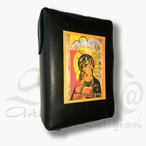 custodia bibbia vergine terzo millennio nera