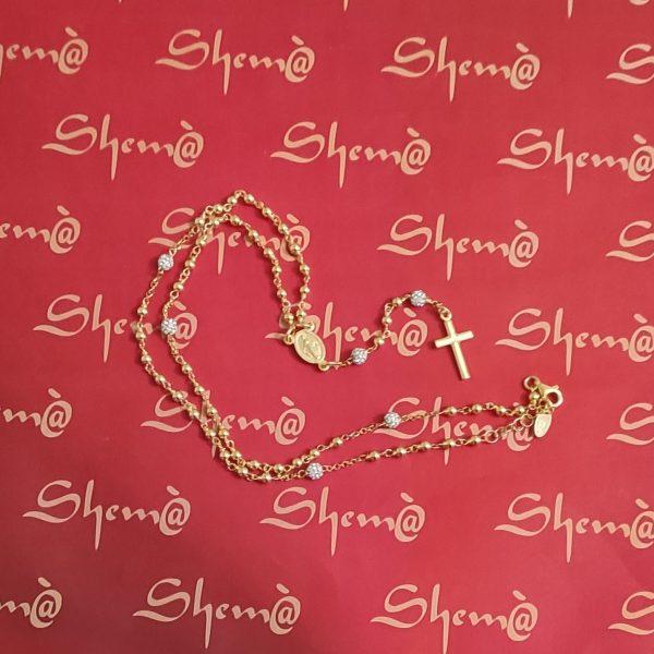 rosario argento e oro