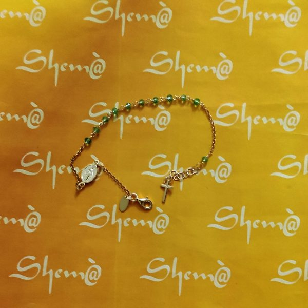 braccialetto rosario
