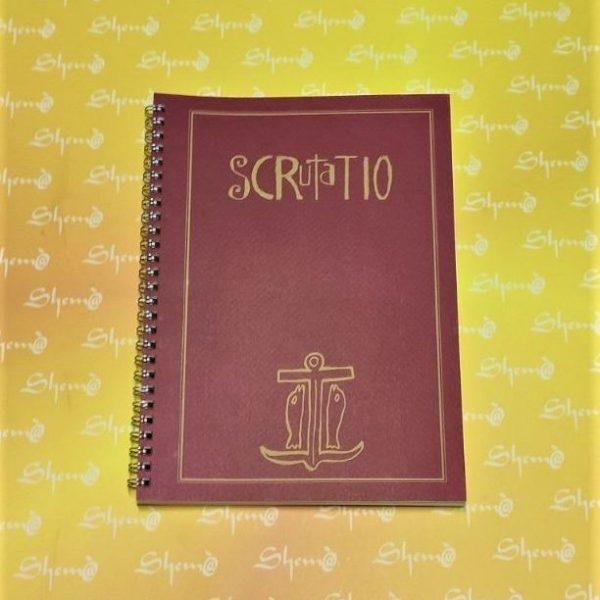 quaderno per scrutare