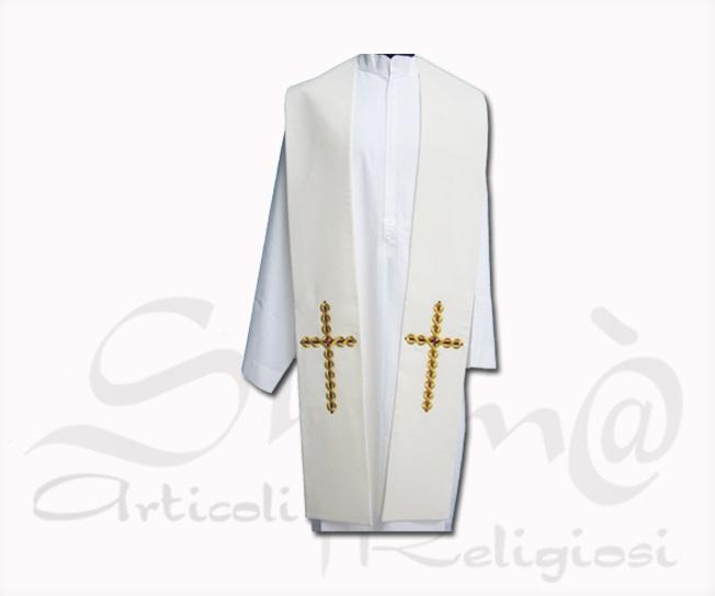 Stola Croce dorata